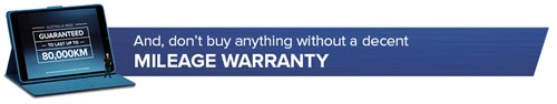 MILEAGE Warranty Header